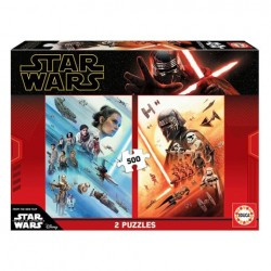 Puzzle Star Wars episodio IX - 2x500 piezas Educa 18361