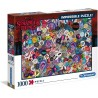 Puzzle Imposible Stranger Things - 1000 piezas Clementoni 39528