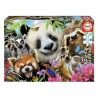 Puzzle Black eyed friends selfie - 300 piezas Educa 18610