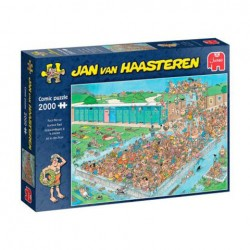 Puzzle Jan van Haasteren - Pool Pile-Up - 2000 piezas Jumbo 20040