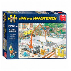 Puzzle Jan van Haasteren - Almost ready - 1000 piezas Jumbo 20037