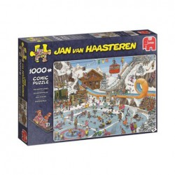 Puzzle Jan van Haasteren - The Winter Games - 1000 piezas Jumbo 19065