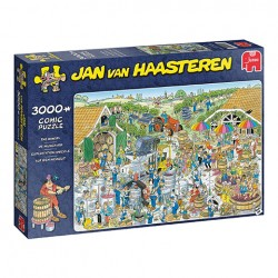 Puzzle Jan van Haasteren - The Winery - 3000 piezas Jumbo 19198