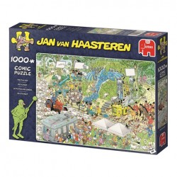 Puzzle Jan van Haasteren - The Film Set - 1000 piezas Jumbo 19074