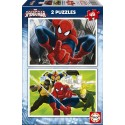 Puzzle Ultimate Spider-man - 2x48 piezas Educa 15639