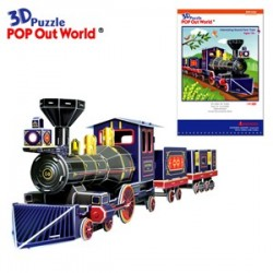 Puzzle Interesting Grand Park Train 3D -  141 piezas Scholas SP070164