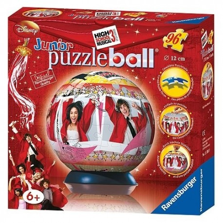 Puzzle Bola High School Musical 3 -  96 piezas Ravensburger 113859