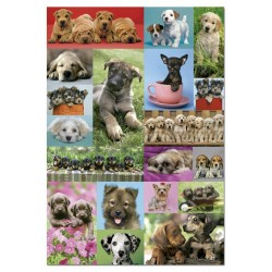 Puzzle Collage perritos - 1000 piezas Educa 14441