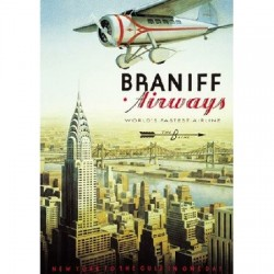 Puzzle Braniff Airways - 1000 piezas Educa 12734