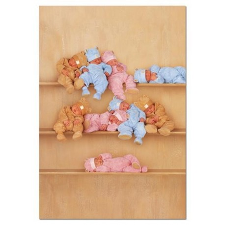 Puzzle Bear bears on three shelves - 1000 piezas Educa 13806