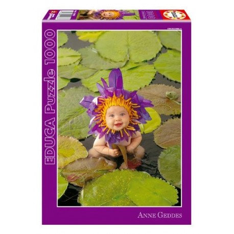 Puzzle Waterlily - 1000 piezas Educa 12933