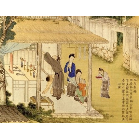 Puzzle Chinese Family Blessing at Ancestral Hall - 1000 piezas Ricordi Arte 2801N24017