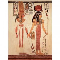 Puzzle Nefertari preceded by Goddess Isis - 1000 piezas Ricordi Arte 0801N15857